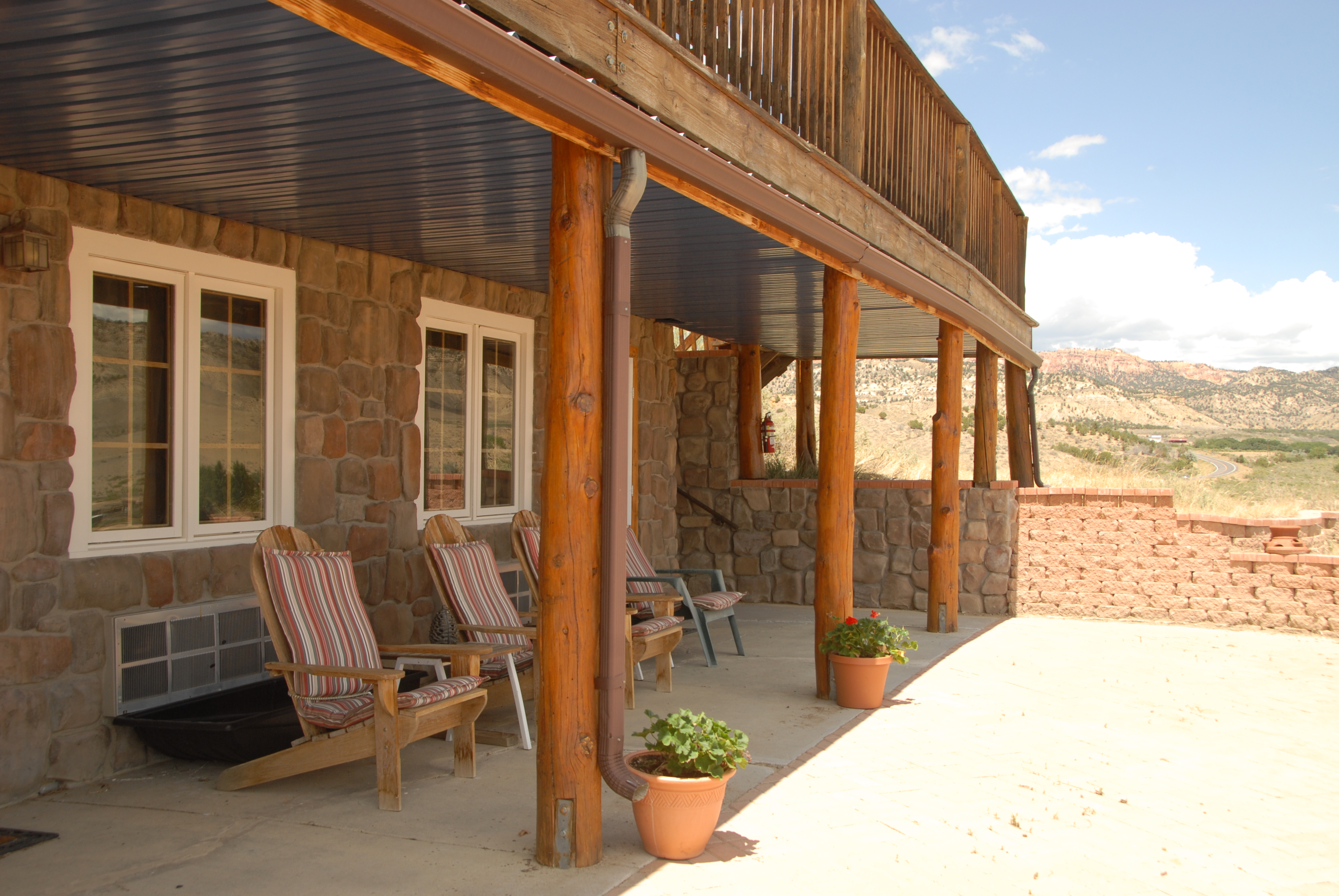 Buffalo Sage Outdoor Porch
